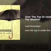 Album Over the top or under the weather